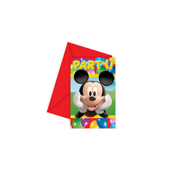 Invitations Mickey Colours