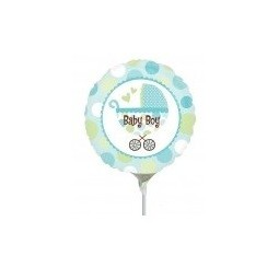 Baby Boy Blue ballon rempli...