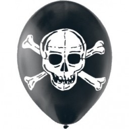 Ballons Pirate Party