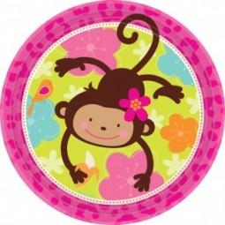 Assiettes Monkey Love