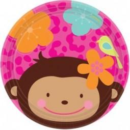 Assiettes à Dessert Monkey...