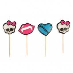 Bougies Monster High Pick