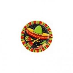 Assiettes Fiesta Stripes