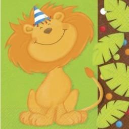 Serviettes Jungle Party
