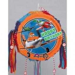 Piñata Planes ronde
