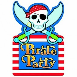 Invitations Pirate Party