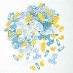 Confetti Baby Bleu