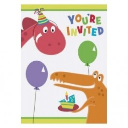 Invitations Dino Party